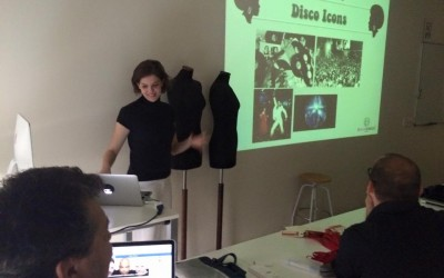 Workshop con i ragazzi di IED Barcelona